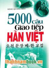 5000 Câu Giao Tiếp Hàn Việt ( Kèm CD )