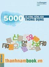 5000 Từ Vựng Tiếng Hàn Thông Dụng
