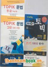 Combo Luyện Thi Topik II + Bài Tập Ngữ Pháp Topik Trung Cao Cấp