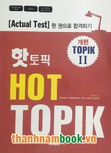 Hot Topik II – Bộ đề thi Topik Level 3,4,5,6 (Kèm CD)