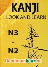 Kanji Look and Learn N3 và N2 Nhật Việt