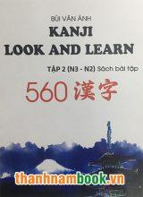 Kanji Look and Learn N3 và N2  sách bài tập tập 2 – Nhật Việt