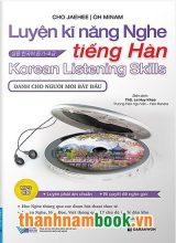Luyện Kĩ Năng Nghe Tiếng Hàn Dành Cho Người Mới Bắt Đầu