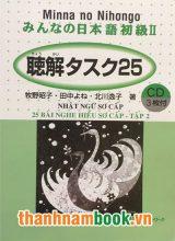 Minna no Nihongo II 25 bài nghe hiểu tập 2