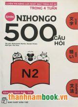 Shin nihongo 500 câu hỏi N2 – Có tiếng Việt