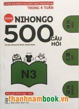 Shin nihongo 500 câu hỏi N3 – Có tiếng Việt