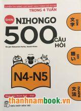 Shin nihongo 500 câu hỏi N4 và N5 – Có tiếng Việt