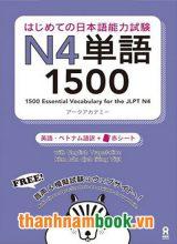 Hajimete no nihongo Tango N4 1500 – Bản Nhật Việt