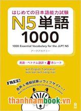 Hajimete no nihongo Tango N5 1000 – Bản Nhật Việt