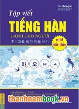 Tập Viết Tiếng Hàn Cho Người Mới Bắt Đầu