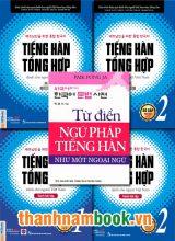 Combo Tiếng Hàn Sơ Cấp Bản Mới (Sơ Cấp 1 và 2 ) + Từ Điển Ngữ Pháp