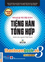 Tiếng Hàn Tổng Hợp Trung Cấp 3 – Sách Giáo Khoa Phiên Bản Mới ( Bản Đen Trắng )