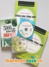 Combo Tiếng Hàn Tổng Hợp Sơ Cấp 2 + 5000 Câu Giao Tiếp Hàn Việt