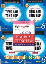 Combo Sách Học Tiếng Hàn Cao Cấp 5,6 Bản Đen Trắng + Từ Điển Ngữ Pháp