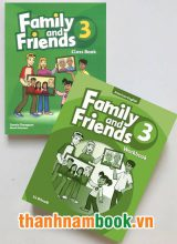Family And Friends 3 ( Class Book + Workbook )