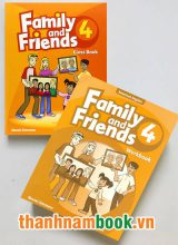 Family And Friends 4 ( Class Book + Workbook )