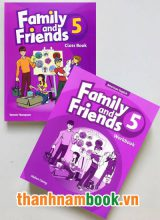 Family And Friends 5 ( Class Book + Workbook )