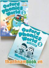 Oxford Phonics World 1 ( Sách Học + Bài Tập )