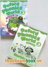 Oxford Phonics World 3 ( Sách Học + Bài Tập )