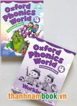 Oxford Phonics World 4 ( Sách Học + Bài Tập )