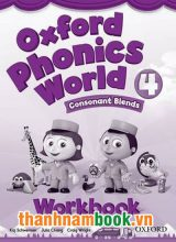 Oxford Phonics World 4 Sách Bài Tập