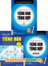 Combo Tiếng Hàn Tổng Hợp Sơ Cấp 1 Bản Mới + Tập Viết Tiếng Hàn