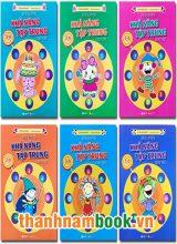 Sách Rèn Luyện Khả Năng Tập Trung Cho Trẻ 3-6 Tuổi ( Bộ 6 Quyển )