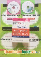 Combo Sách Học Tiếng Hàn Cao Cấp + Từ Điển Ngữ Pháp