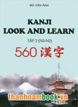 Kanji Look and Learn N3 và N2  sách học tập 2 – Nhật Việt
