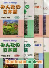 Combo Minna No Nihongo Trung Cấp Trình Độ N3 và N2 ( Bộ 8 Cuốn )
