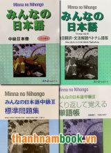 Combo Minna No Nihongo Trung Cấp 2 – Trình Độ N2