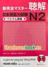 Shinkanzen Masuta N2 Nghe Hiểu – Bản Tiếng Việt ( In Màu )