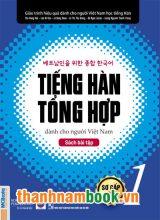 Tiếng Hàn Tổng Hợp Dành Cho Người Việt Nam – Sơ Cấp 1 Sách Bài Tập
