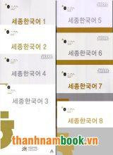 Combo Giáo Trình Sejong ( Trọn Bộ 8 Quyển )