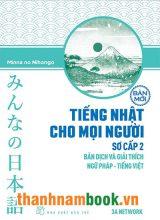 Minnano Nihongo Sơ Cấp 2 Bản dịch Và Giải Thích Ngữ Pháp Tiếng Việt – NXT Trẻ