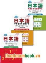 Combo 3 Cuốn Tập Viết Tiếng Nhật Căn Bản Hiragana + Katakana + Kanji
